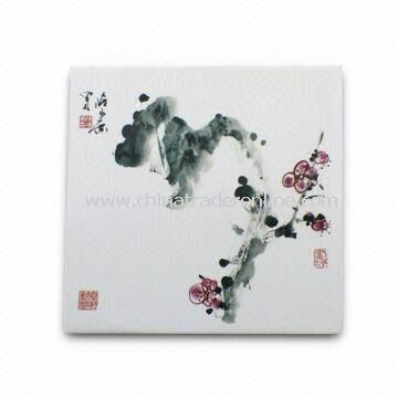 Plum Blossoms Fridge Magnet, Suitable for Promotional and Gift Purposes from China