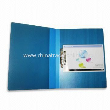 PP Clip File with 0.75mm Thickness, Measures 767 x 553 x 334mm from China
