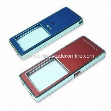 Promotional Magnifier Card with UV and LED Lights