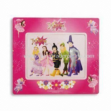Promotional Refrigerator Magnet in Photo Frame Shape, Made of Flexible Rubber Magnet and Paper