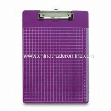 Rectangular Clip Board, Customers Logos are Accepted, Measures A4/A5