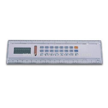 Ruler Shaped Calculator in Various Colors, Suitable for Promotional Purposes