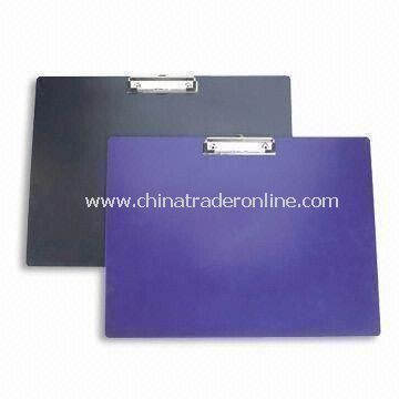 Strong Clip Boards, Measures A4/A5, Customers Logos and Colors are Accepted