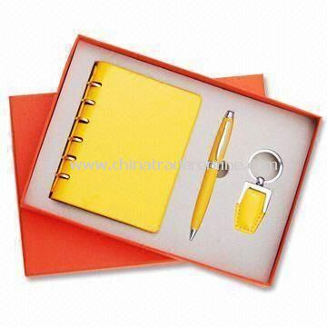 Three-piece Stationery Gift Set, Different Colors are Available