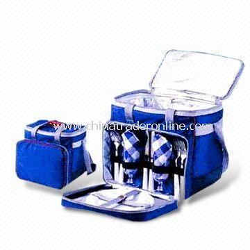 27 x 23 x 27cm Camping Set, Composed of Picnic Pack Back/Cutlery Set/Picnic Supply/Picnic Items