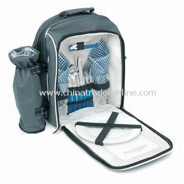 Backpack Picnic Set, Made of 600D Polyester, Suitable for 2 Persons