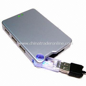 Combo All-in-one Card Reader with Three-port Bus-powered USB Hub, Suitable for Promotions and Gift