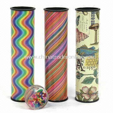 Liquid Kaleidoscope with Amazing Patterns, Available in Assorted Colors