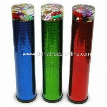 Liquid Kaleidoscopes, Contains Multicolored Beads