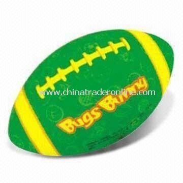 Machine Stitched Rugby Ball, Available in Various Sizes, Suitable for Promotional Purposes