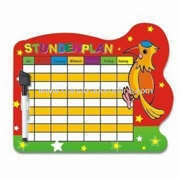 Magnet Writing Board with Marker Pen and Eraser, Suitable for Kids, Available in Various Sizes