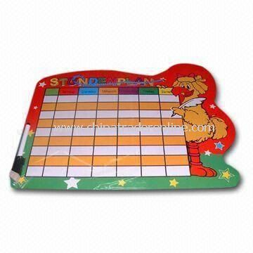Magnetic Memo Board, with 200g Chrome Paper, Available in Full-color Printing on One Side
