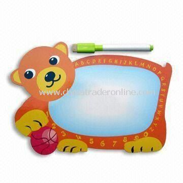 Memo Board with Cute Bear Design, Customized Sizes, Designs, and Styles are Welcome