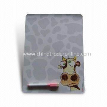 Memo Message Board with Magnetic Strips and Wipe Pen, Ideal for Gifts and Souvenir Purposes