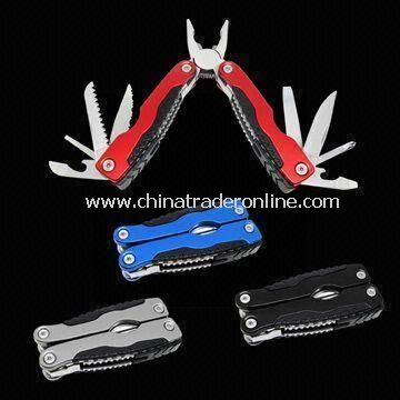 Multi Function Tool with Anodized Aluminum Handle