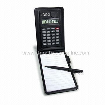Notebook Calculator in Different Designs, Customized Logos and Colors are Welcome