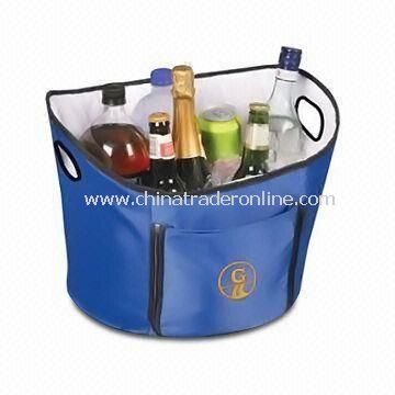 Open Top Cooler Ice Bucket, Suitable for Picnic and Barbecue Accessories
