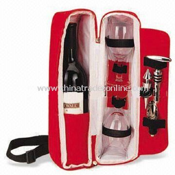 Picnic Bag Sets for 4 Persons, Made of 600D Polyester, OEM/ODM Orders are Welcome