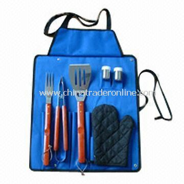 Picnic BBQ Bag with 1.5mm Stainless Steel Blade