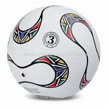 Promotional Soccer Ball, Made of Rubber, Customized Logos are Accepted