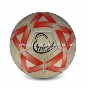 Soccer Ball, Made of 0.5mm PVC, Suitable for Promotional Purposes