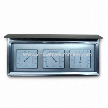 Thermometer, Hygrometer, and Barometer are also Available