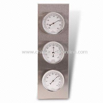 Thermometer, Hygrometer, Barometer, Measuring 30.1 x 9.8 x 3.5cm