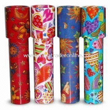 Traditional Kaleidoscope with Beautiful Pictures in a Variety of Colors