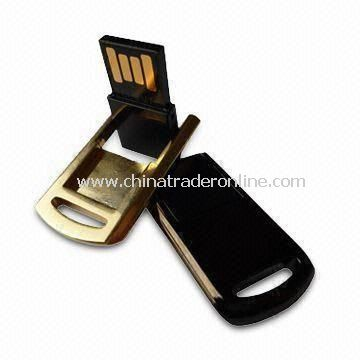 USB Flash Drive with 8GB Memory Capacity, No Software Driver Required