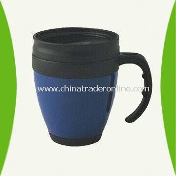 16-Ounce Plastic Mug Available in Different Colors from China