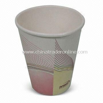 7oz Disposable Cup, Measuring 7.3 x 5.2 x 7.8cm, Made of Paper