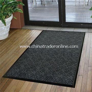 Commercial Entrance Floor Mat with Polypropylene Surface and Rubber Back, Measures 90 x 150cm