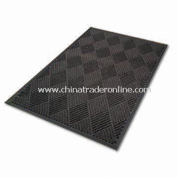 Commercial Entrance Mat, Measures 90 x 150cm, Made of Rubber Back and Polypropylene Surface