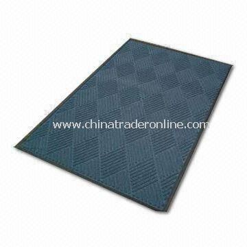 Commercial Entrance Mat with Grit Surface, Measures 60 x 90cm, Easy to Clean