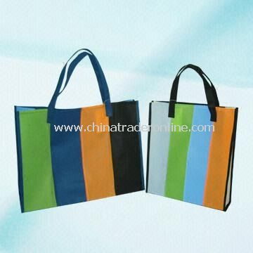 Non-woven Shopping Tote Bag with Printed Design on Front