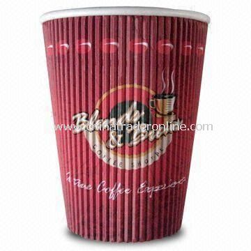 Paper/Disposable Cup, Made of Different Materials, Customized Sizes Available