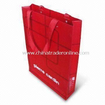 Paper Gift Bag, Various Designs and Colors are Available, Printed with Customized Logo