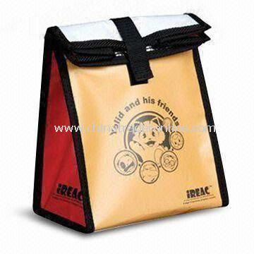 Picnic Cooler Bag, Made of PP Woven, Suitable for Promotional and Gift Purposes