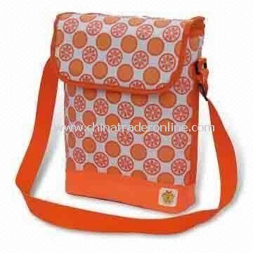 Picnic Cooler Bag with Capacity of 9L, Made of Printed 70D Nylon from China