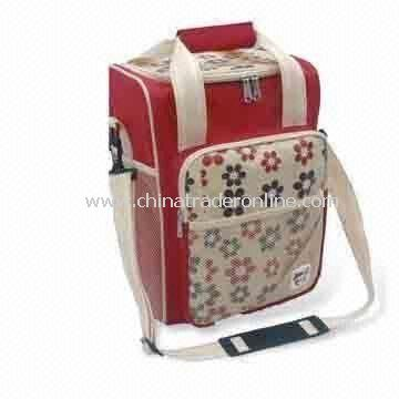 Picnic Cooler Bag with One Large Compartment, Front and Mesh Pocket