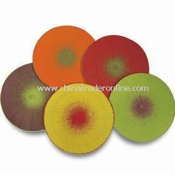 Placemats, Available in Various Colors, Made of 100% Paper and Cotton