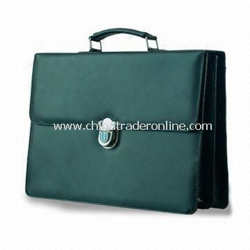 Promotional Briefcase with Ample Space for Customers Logo, Made of PVC