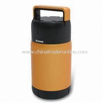 1,500mL Vacuum Food Container with Insulated Stainless Steel Cup, Easy to Fill and Clean