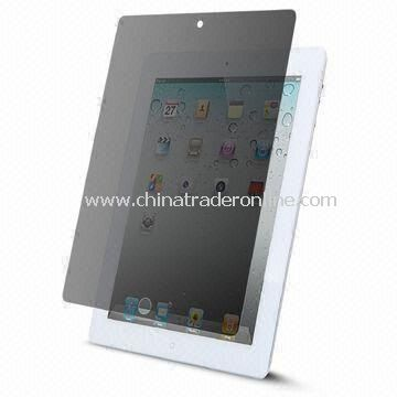 2-way Privacy Screen Protector, Suitable for Apples iPad 2, No Sticky Adhesive