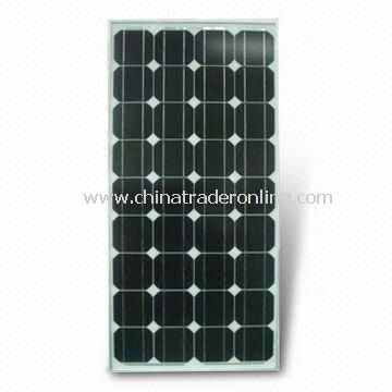 90W Mono-crystalline Silicon Solar Panel, Available with High Efficiency