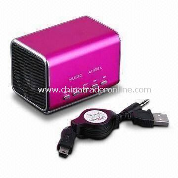 Bluetooth Speakers for Ipod Ipad Iphone Supports to SD Card and USB Flash Drive Sized 152 x 70 x 60m