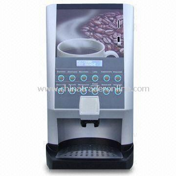 Coffee Vending Machine, Available in Various Flavors, Equipped with Maximum of 55 cups