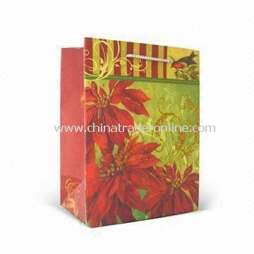 Fashionable Paper Gift Bag, Suitable for Valentines Day and Promotional Purposes, Eco-friendly