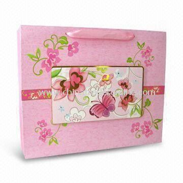 Fashionable Paper Gift Bag for Valentines Day or Promotional, Eco-friendly from China