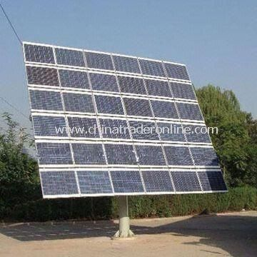 Flat Roof Solar Tracker System with High Transmission Ratio, Safe and Reliable